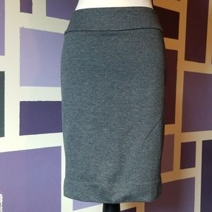 Halogen Wool Look Herringbone Pencil Skirt